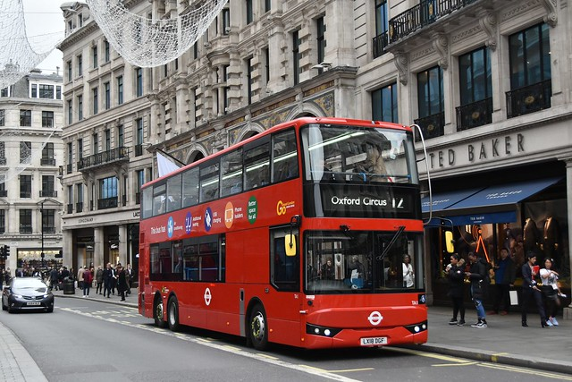 *NEW* Go-Ahead London: TA1 | LX18DGF || 12: Dulwich Library - Oxford Circus
