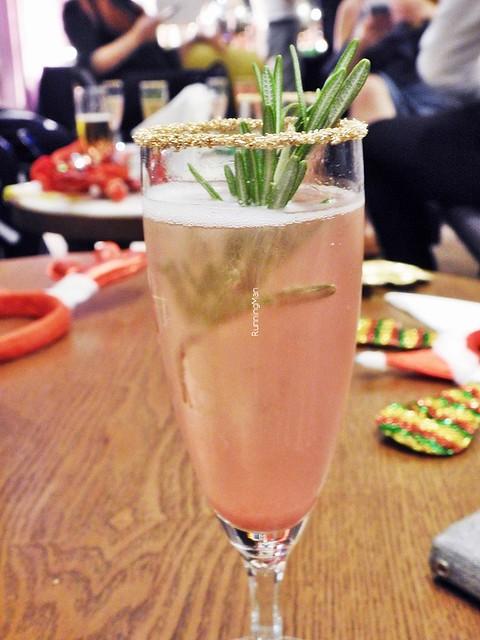 Cocktail Blushing Santarina