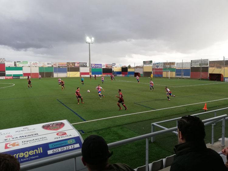 El Algeciras CF sufre primero y perdona después