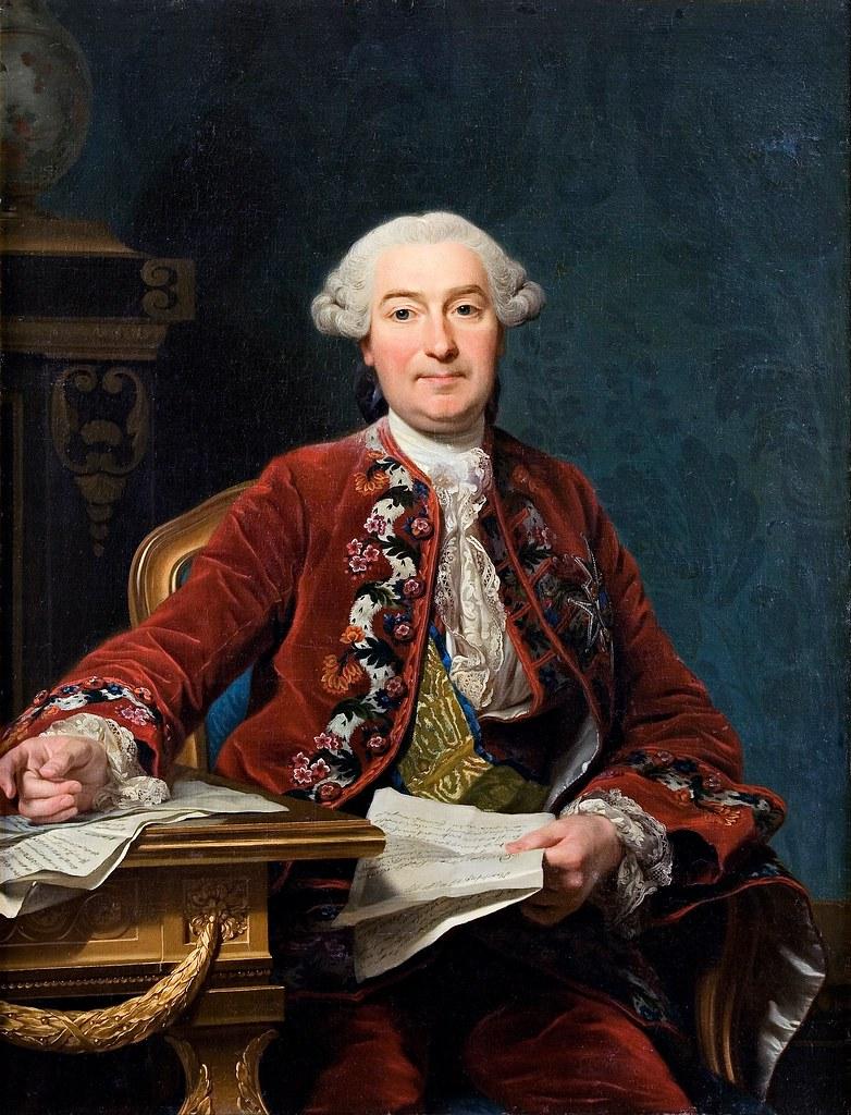 Alexander Roslin - Ulrik Scheffer (1763)