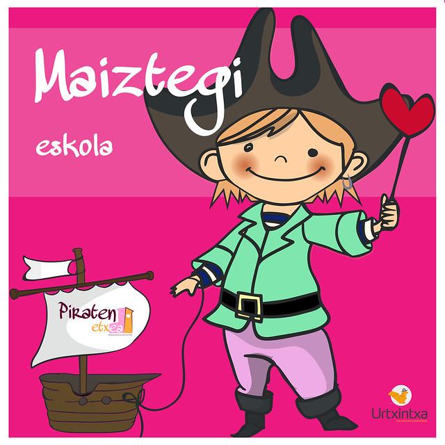 Pirata egonaldia - Maiztegi eskola 2018.11.26-2018.11.28