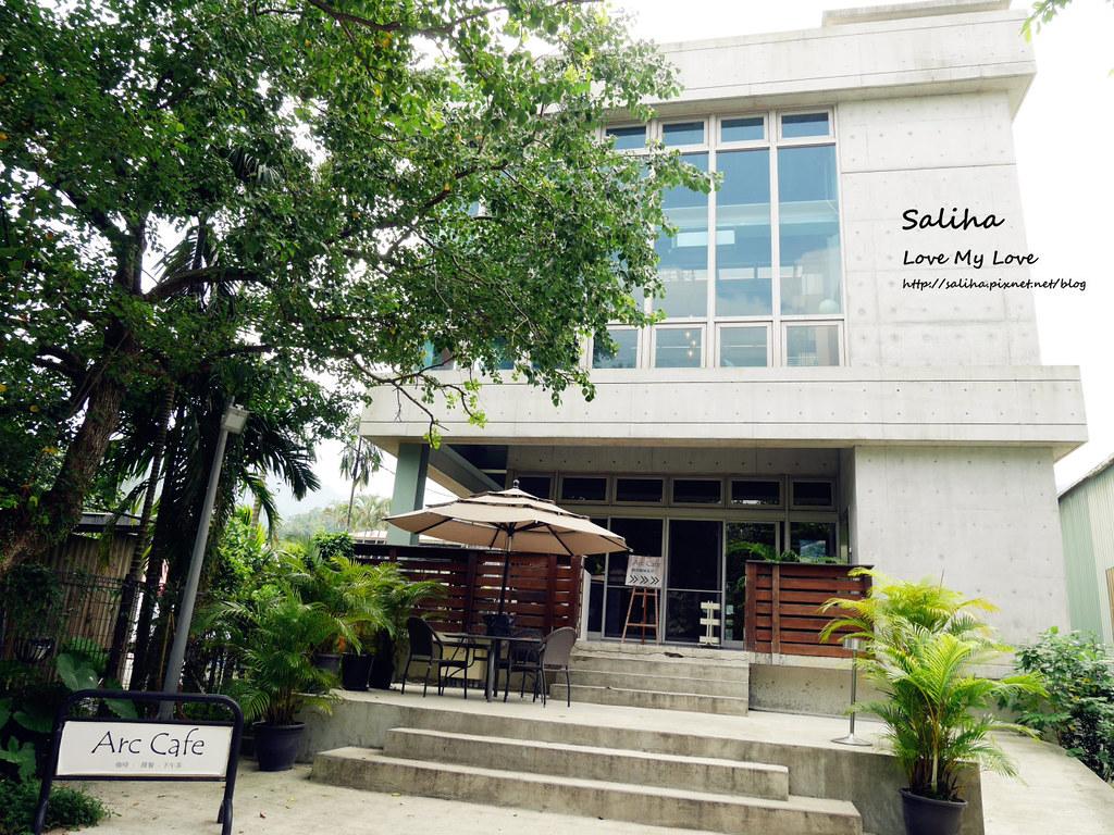 新北深坑老街一日遊景點推薦Arc Cafe下午茶玻璃屋咖啡廳 (1)