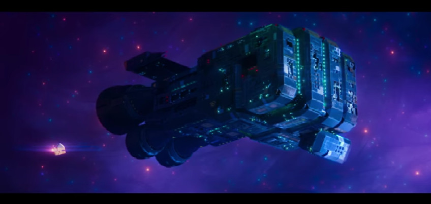 Rex Dangervest's Starship/Freighter from The Lego Movie 2: The Second Part Trailer