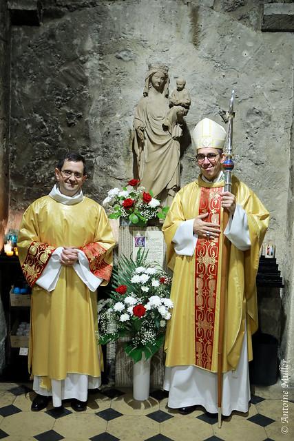Ordination diaconale en vue du sacerdoce de Marc Leroi