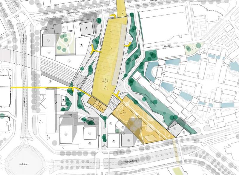 Nieuw Pompenburg plattegrond