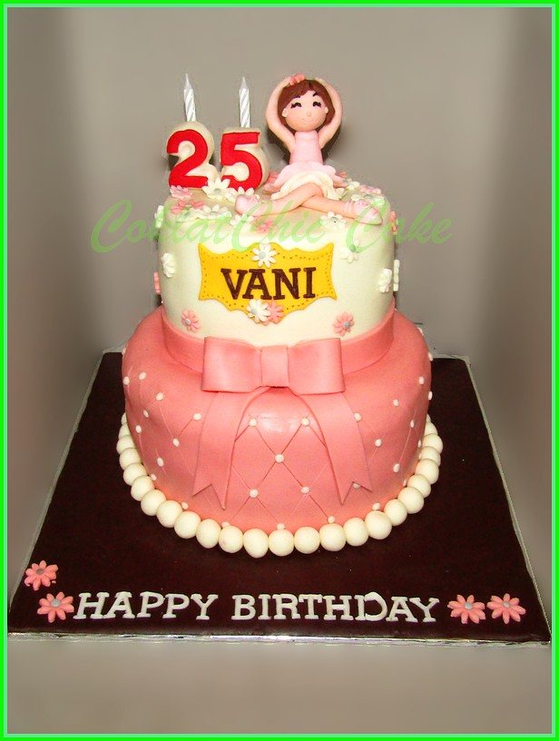 Cake Balerina VANI 15 /1 2 cm