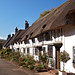 Thatched row of cottages, Wendover, Buckinghamshire