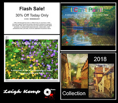 FLASH SALE - 30% off my photo books today