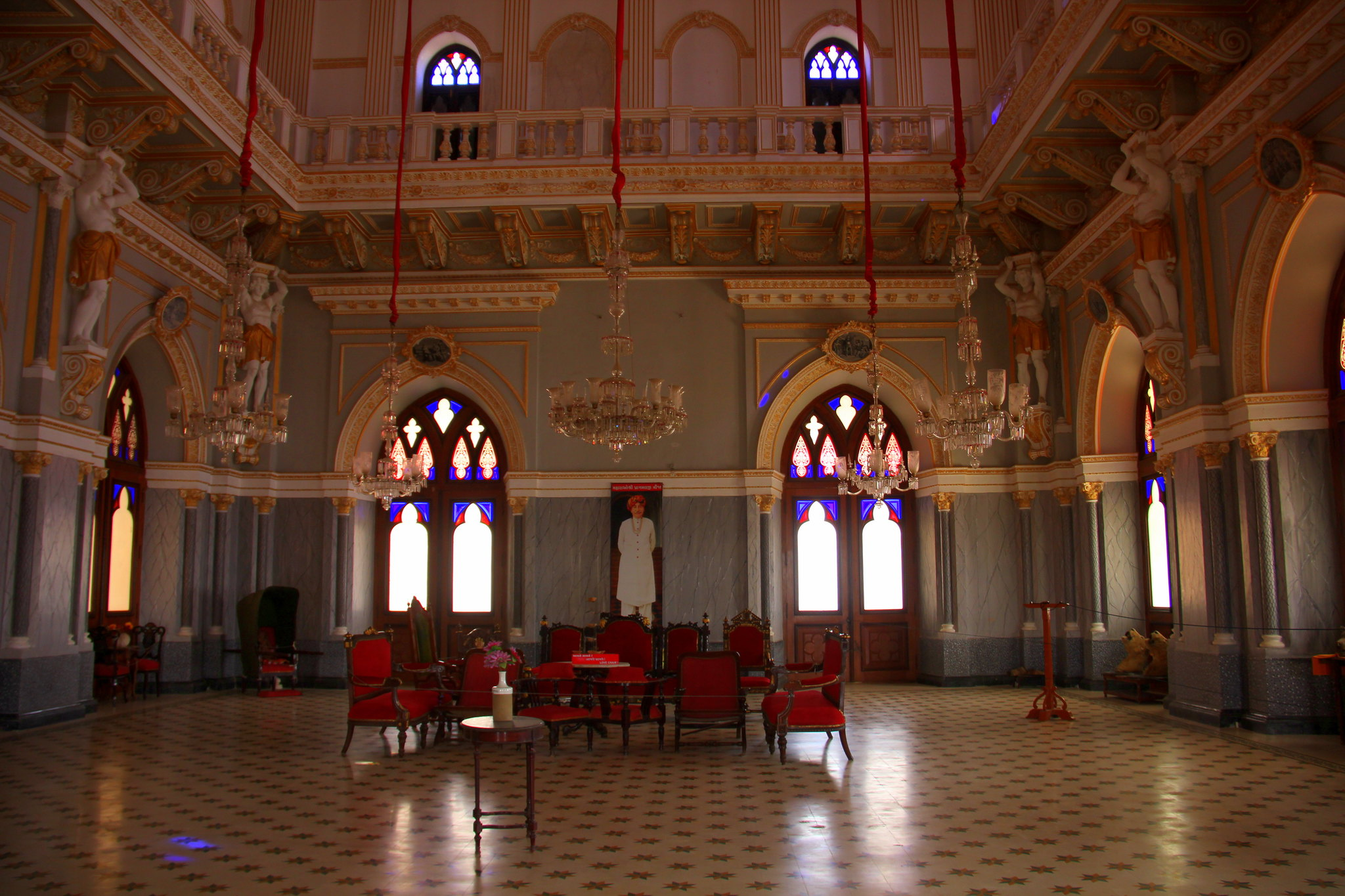 Prag Mahal is in Bhuj