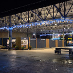 The Box Market at night