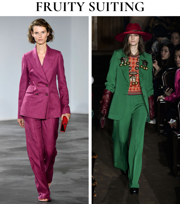 Fruity Suiting Trend