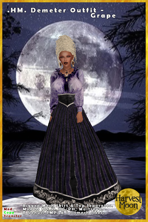 Harvest Moon – Demeter Outfit – Grape
