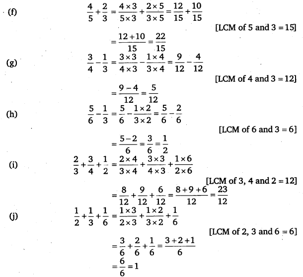 NCERT Solutions for Class 6 Maths Chapter 7 Fractions 76