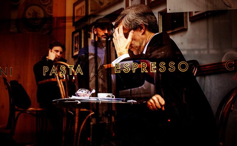 Một góc phố Cafe tại Ý