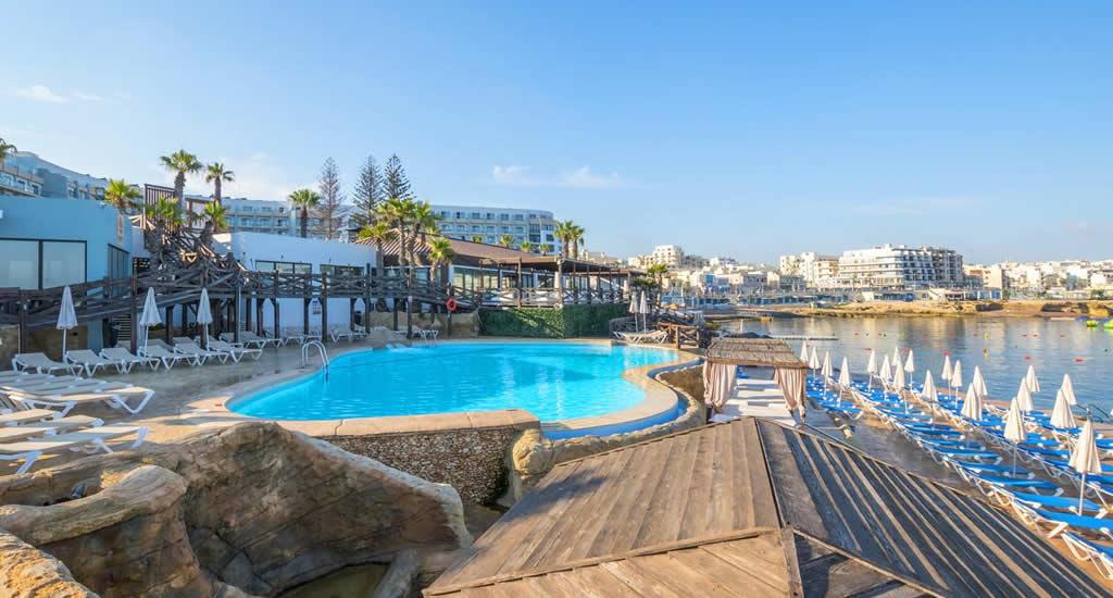 Leuk hotel St. Pau;s Bay, Malta: Dolmen Hotel (foto met dank aan Dolmen Hotel)   Malta & Gozo