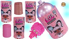 Giant Hair Spray of LOL Surprise Blind Bags! Big Sister Hair Goals Makeover Series Dolls