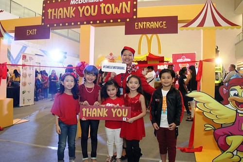 SM and McDonald's National Thank You Week