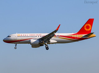 F-WWDP Airbus A320 Chengdu Airlines