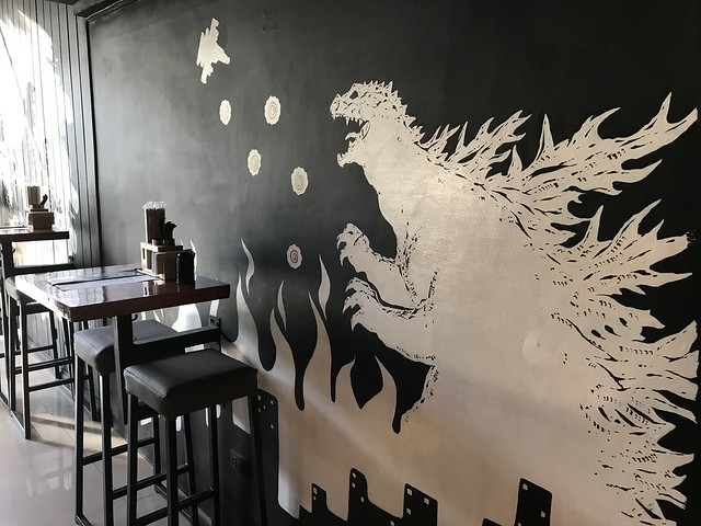 Ohayo Restaurant  accent wall
