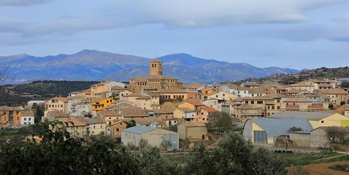 Abiego, Aragón, España.