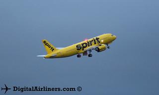 N907NK Airbus A320-271N 8275 Spirit Airlines
