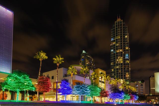 Christmas Lights and Skypoint