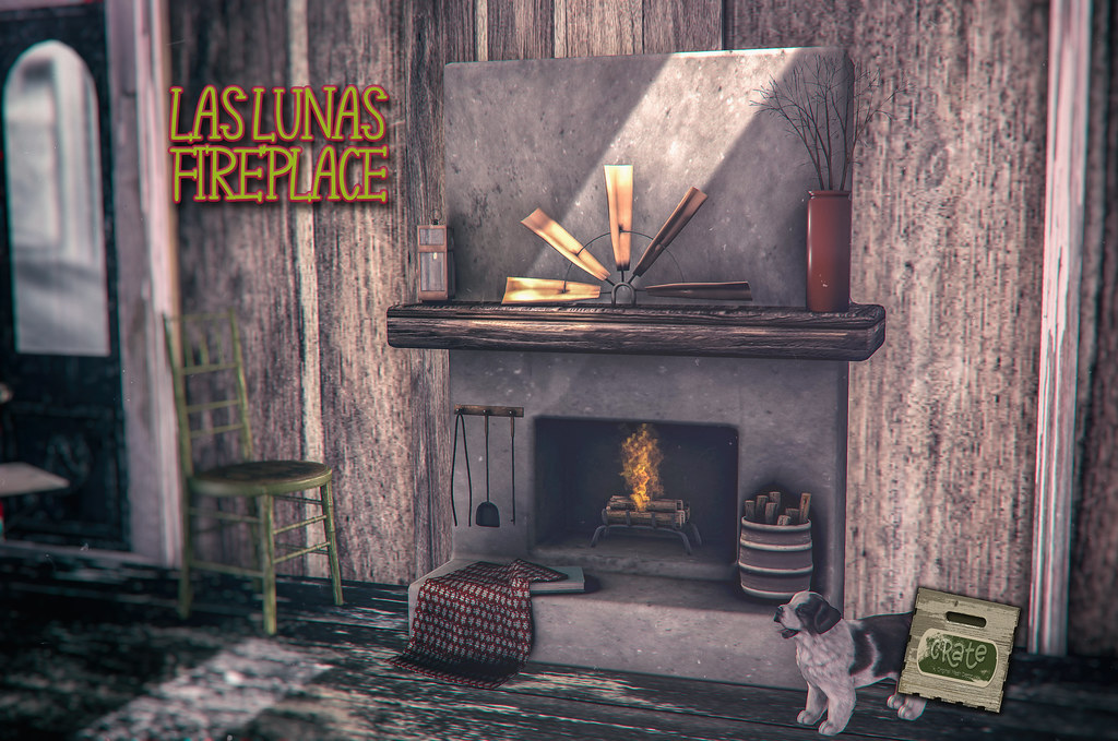 crate's Las Lunas Fireplace for GO! by FaMESHeD