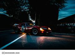 1961 Ferrari 250 GT SWB Breadvan (Entrant/Driver Niklas Halusa and Emanuele Pirro) at the 2018 Goodwood Revival