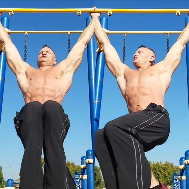 hanging ab leg raises