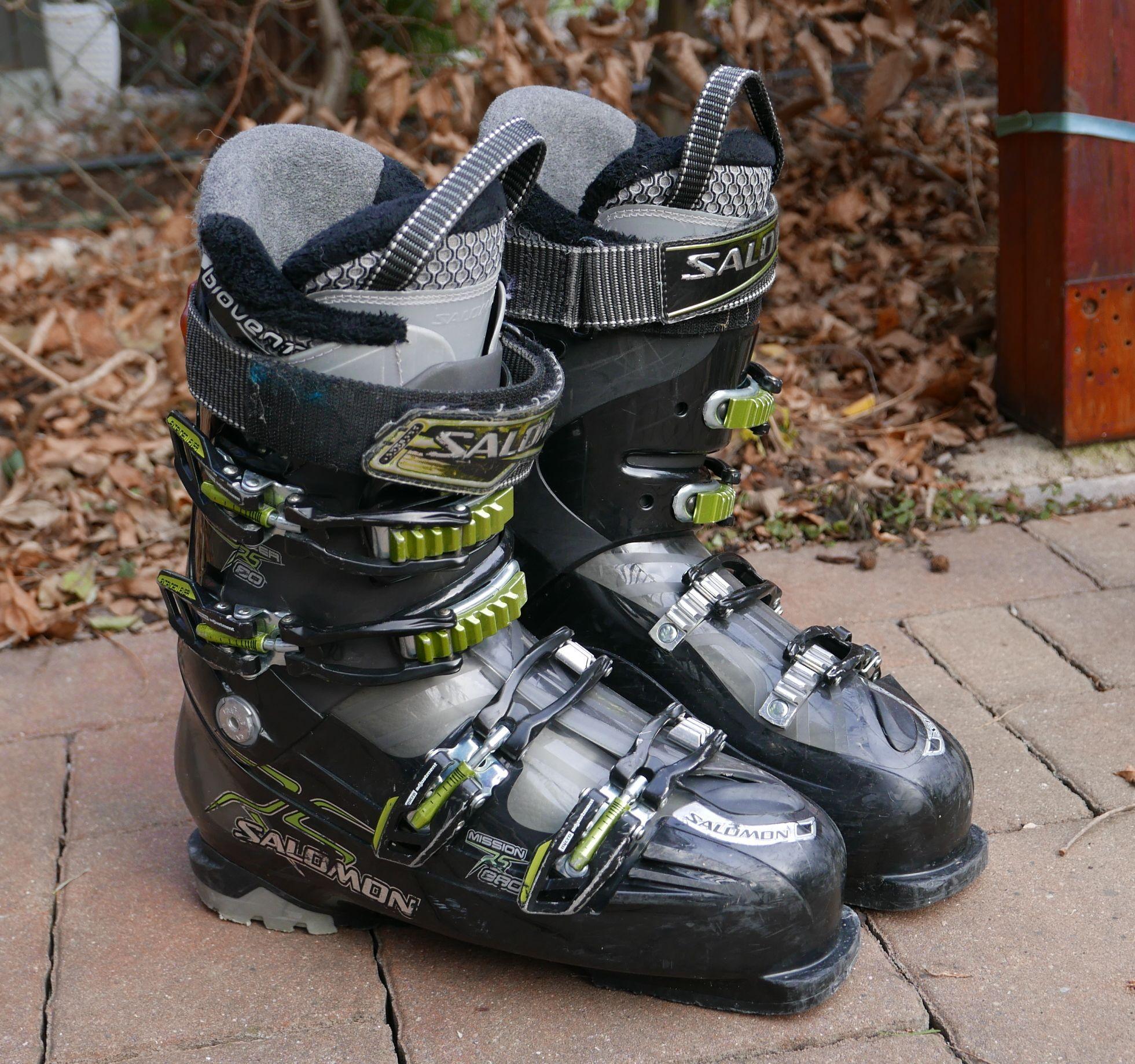 3b53a476e80 Sjezdové boty Salomon energyzer RS 80 vel 27