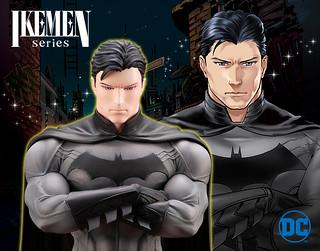 率領眾美男的帥氣熟男終於駕到XD~ 壽屋 DC COMICS美少男 系列【蝙蝠俠】IKEMEN バットマン 1/7 比例PVC塗裝完成品【初回生產限定配件附屬版】