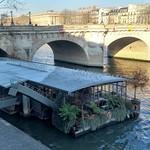 ภาพของ Pont Neuf. france frankreich îledefrance paris capitale 1erarrondissement îledelacité 75 péniche fleuve seine
