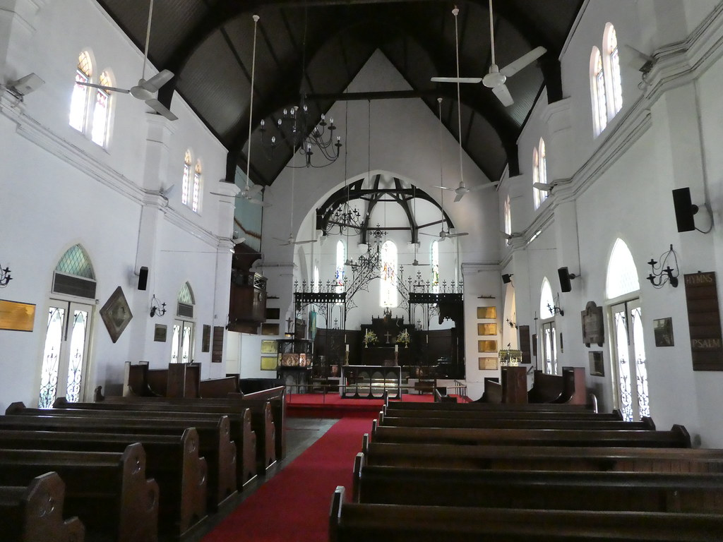 Interior of St. Mary's Cathedral, Kuala Lumpur