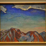 The Cloud, Red Mountain by Frederick H. Varley,  Group of Seven, Art Gallery of Ontario, Toronto, ON