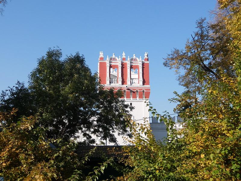 Москва - Новодевичий монастырь - Башня