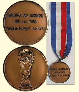 Croatia 3rd place World Cup medal