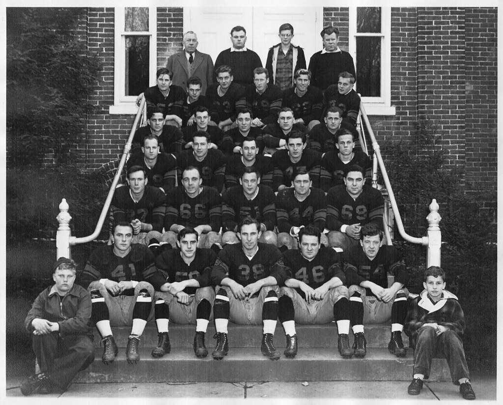 The Big 6 // Perkiomen Valley Indians 1947 or 1948 Team