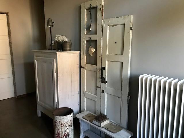 Oude deuren decoratie