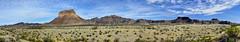 Castolon Peak Panorama