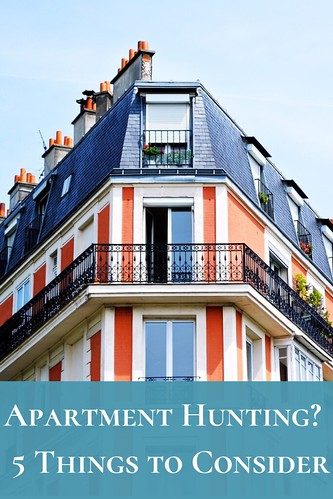 Apartment Hunting? Here are 5 Things to Consider