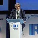 Christian Labrot during plenary 4 session at IRU World Congress