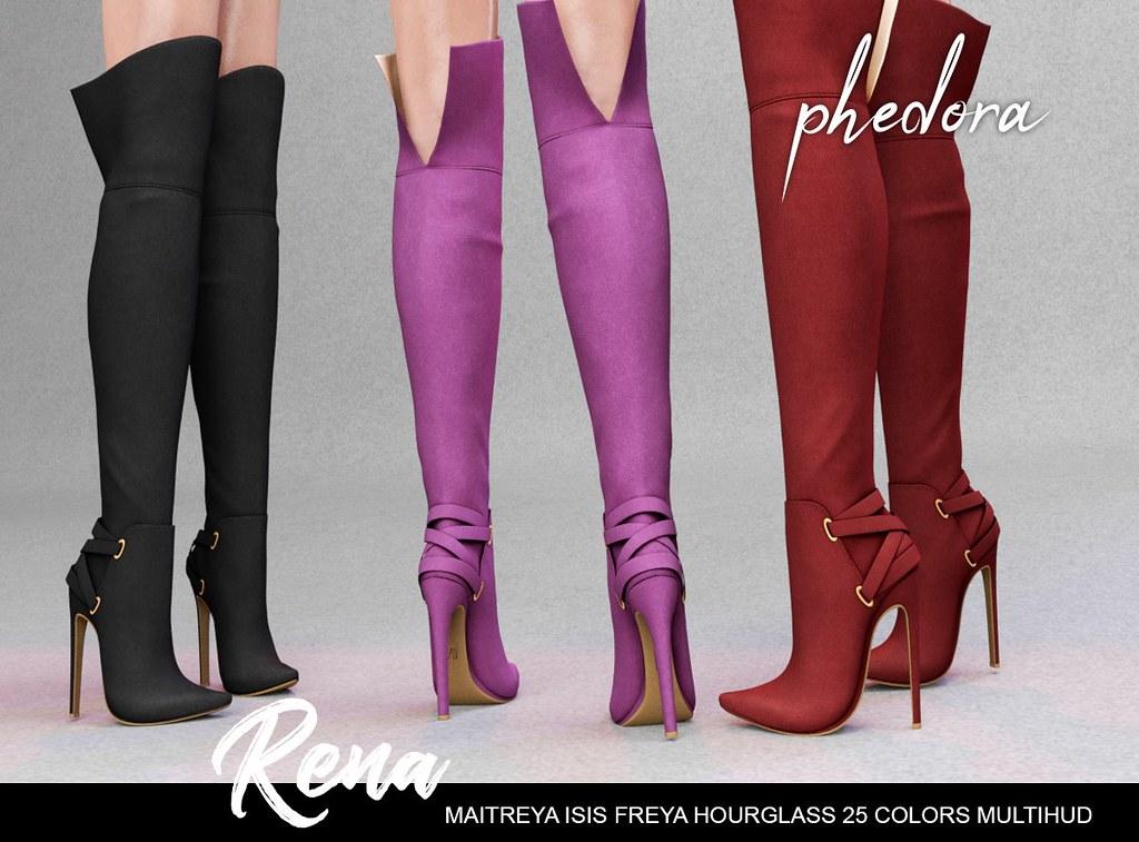 "Phedora. for Kustom9 – ""Rena"" boots ♥"