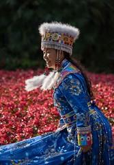 Lady in Kunming