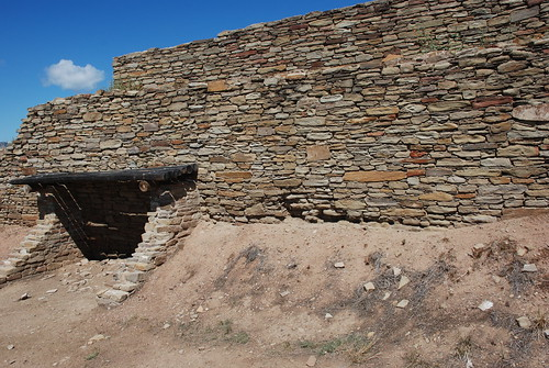 Entrance to Great House Pueblo. From History Comes Alive at Chimney Rock National Monument