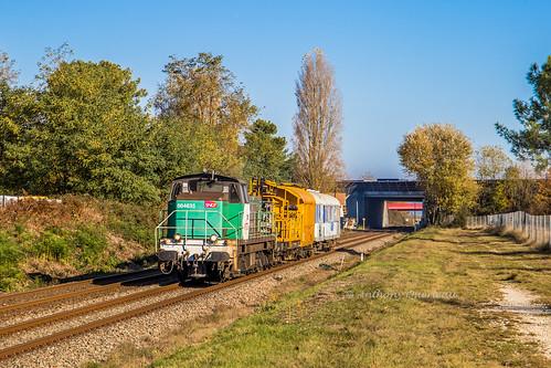 19 novembre 2018 BB 64635 Train 511809 La Rochelle -> Bordeaux-Hourcade St-André-de-Cubzac (33)