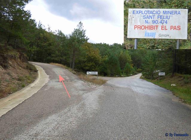 Solsonès 18 -03- Veinats de Guixers i Valls -03- Desvío caminos