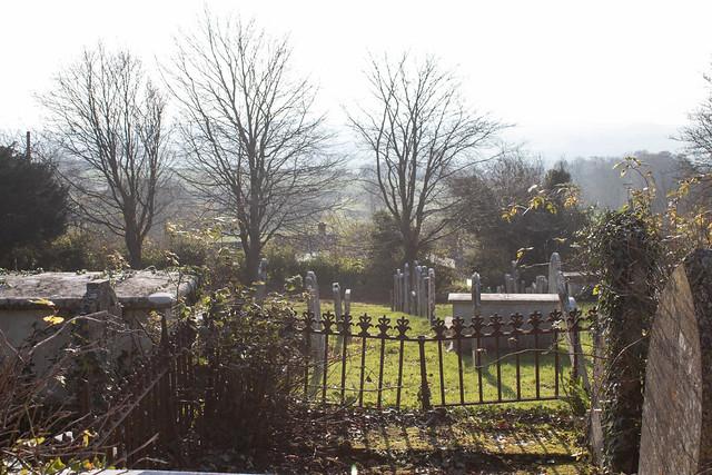 Legg family memorials & railings, Litton Cheney