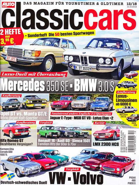 Auto Zeitung - Classic Cars 12/2018