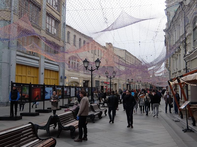 Москва - Никольская улица