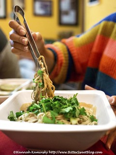 Sound & Savor - Sesame Noodles